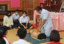 โครงการอบรมผู้นำปฐมพยาบาลเบื้องต้น วันที่ 19 สิงหาคม 2563 โรงเรียนขุขันธ์